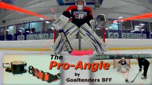 goaltenders bff training props
